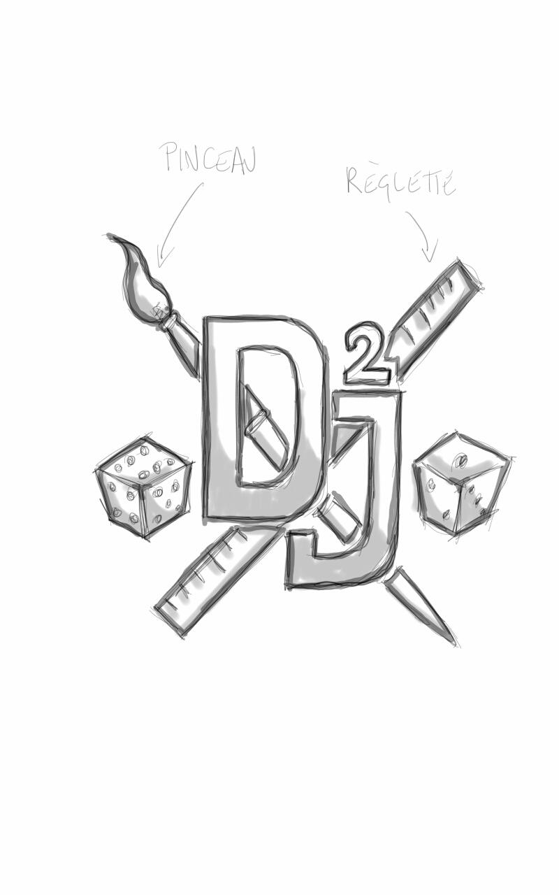Logo Dingues de jeu ?  Sketch10