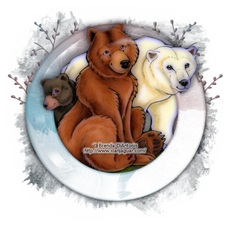 Tube Challenge February 18th - Brenda DiAntonis Bears10