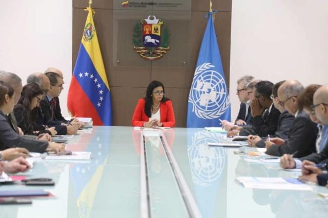 El Gobierno venezolano anuncia que ampliará la cooperación con la ONU