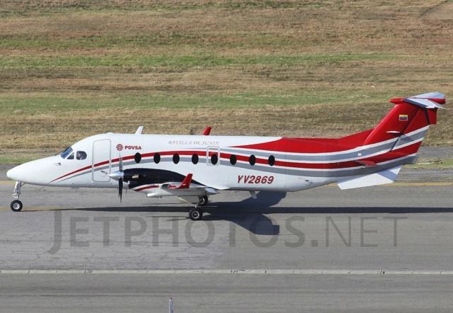 Avión de PDVSA