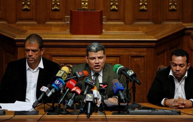 El presidente de la Asamblea Nacional de Venezuela (AN), Luis Parra
