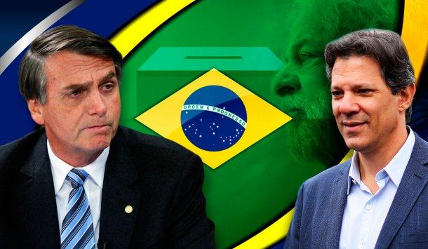 Jair Bolsonaro, Fernando Haddad