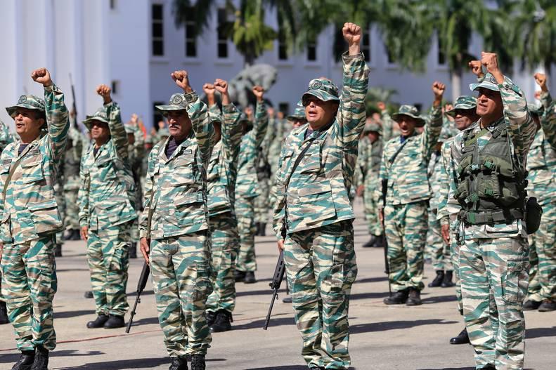 Milicianos Venezuela