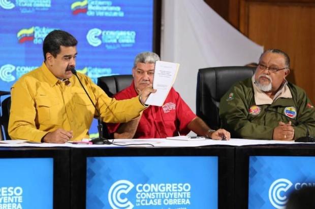 Nicolás Maduro, Eduardo Piñate, Will Rangel