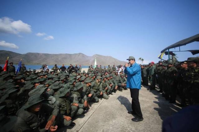 Nicolás Maduro, Militares de Venezuela