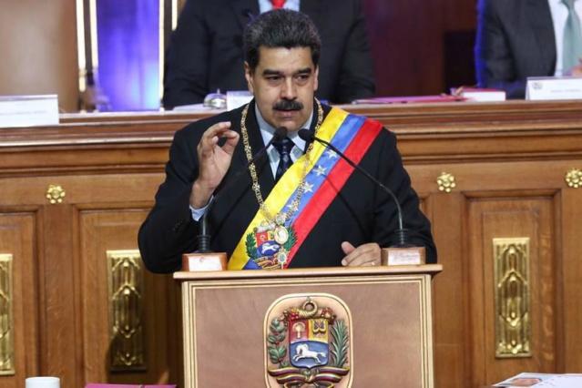 Nicolas Maduro en la ANC, Enero 2019