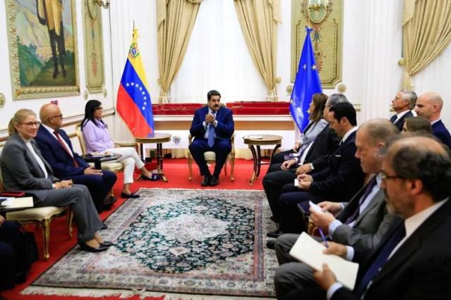 Presidente Maduro y Unión Europea