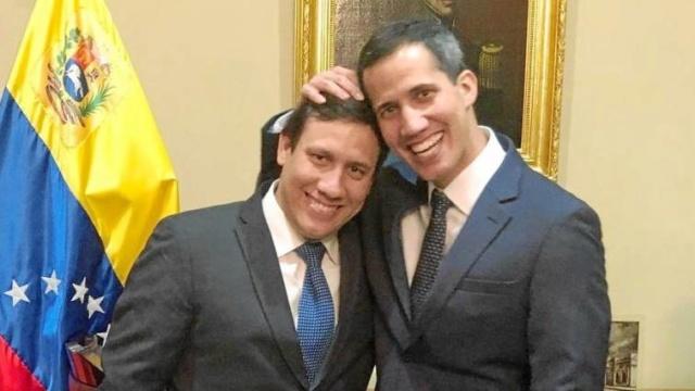 Gustavo Guaidó y Juan Guaidó