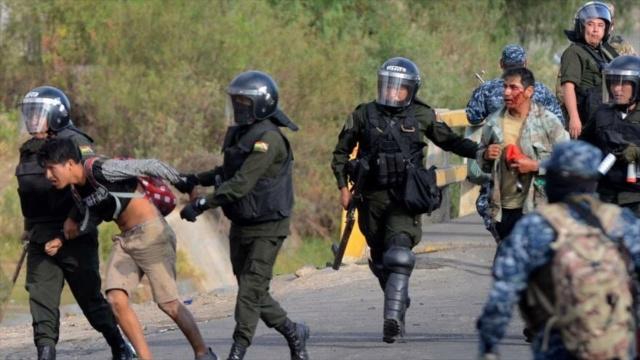 Gobierno de facto de Añez reprime a manifestantes