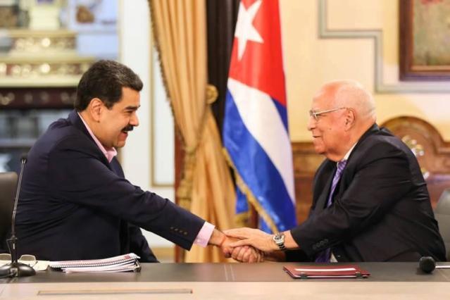 Presidente Maduro insta a renovar estructura de cooperación Cuba-Venezuela