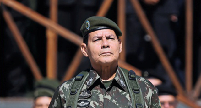 Vicepresidente Hamilton Mourao