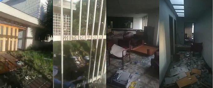 Consulado de Venezuela en Bogotá es saqueado y vandalizado violando las Convenciones de Viena 1233-610