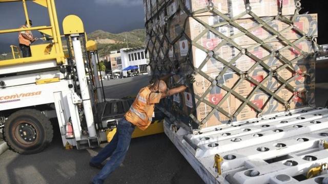 Ayuda Humanitaria enviada por Turquía a Venezuela