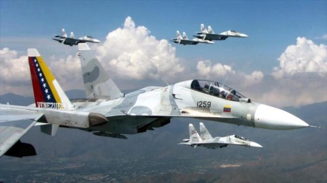 Aviones de combate Sukhoi venezolanos