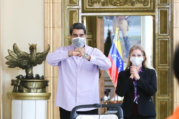 Presidente Maduro y la Primera Dama Cilia Flores