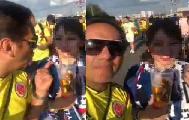 (Vídeo) Sin respeto: Indignación en el mundial por el mal comportamiento de colombianos 14013510