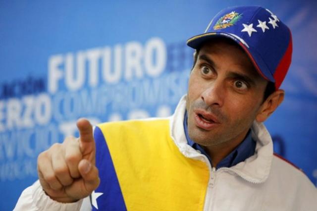 """Henrique Capriles dice que """"pensamientos no democráticos"""" han llegado a la oposición 14489911"""