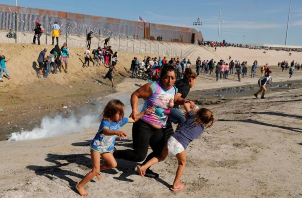 Estados Unidos reprime a Migrantes