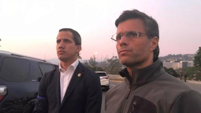 Fracasados, Juan Guaidó, Leopoldo López