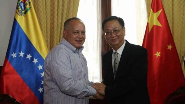 Presidente de la ANC se reunió con embajadores de China y Corea del Norte