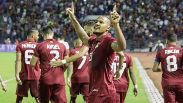 Venezuela ganó 2-0 a Trinidad y Tobago