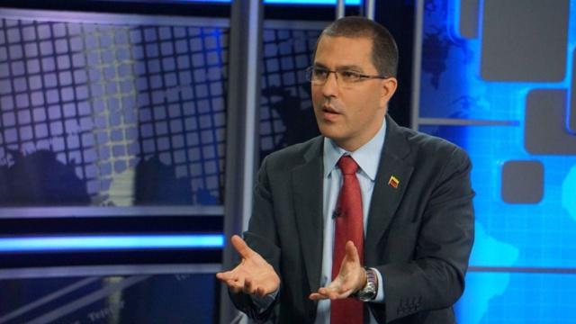 El ministro para Relaciones Exteriores, Jorge Arreaza
