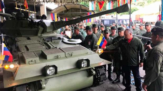 Diosdado Cabello, Ejército de Venezuela