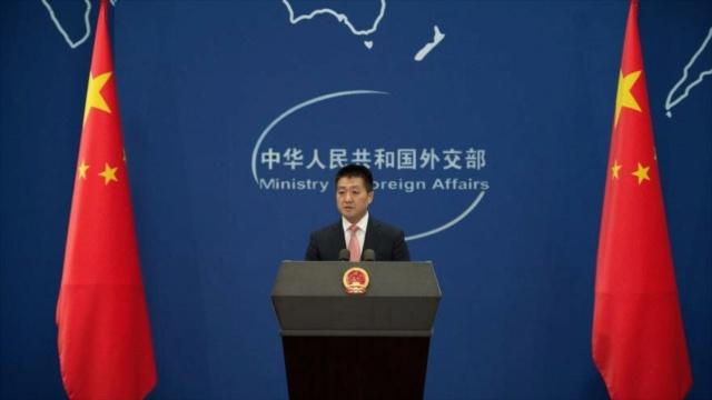 Portavoz del Ministerio de Exteriores chino, Lu Kang