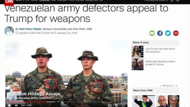 Falsos militares