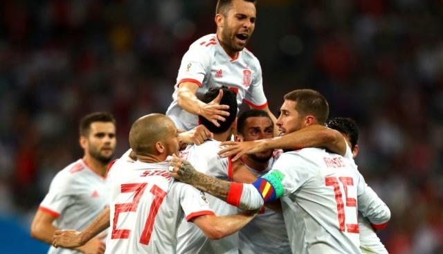España sufrió para ganarle 1-0 a Irán en Rusia 2018 19541710