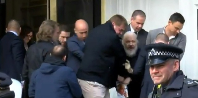 Arresto de Julian Assange