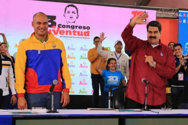 Hector Rodríguez, Nicolás Maduro, JPSUV
