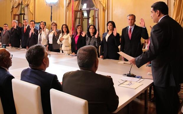 Presidente Maduro apostó en mujeres, jóvenes y expertos técnicos para su gabinete ministerial 2018-026