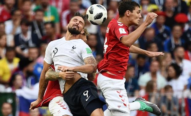 Rusia 2018: Dinamarca y Francia empataron a cero y se clasifican para octavos 2018-061