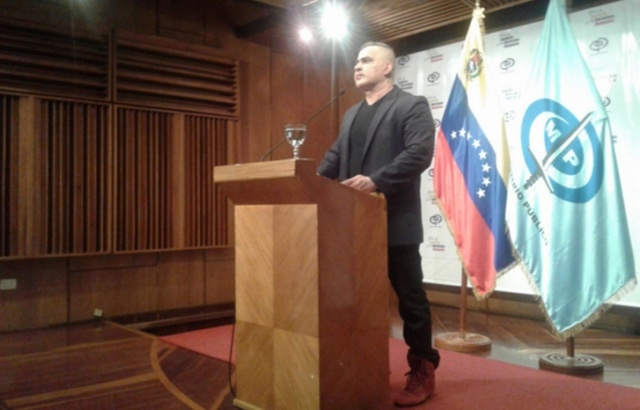 Fiscal Saab informó sobre un desfalco a la Nación por parte del Grupo Empresarial García Armas 2018-108