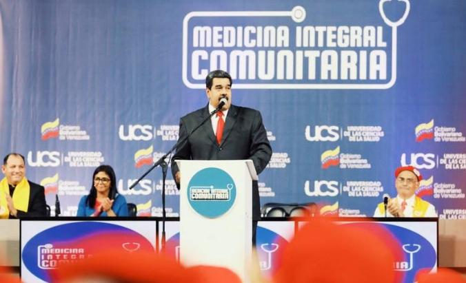 Presidente Maduro propone transformación del sistema de salud 2018-109