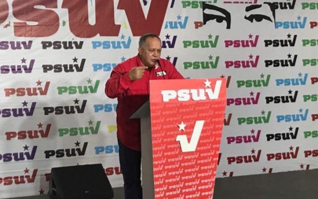 Diosdado Cabello: el PSUV ha sido un gran muro de contención ante las arremetidas contra el país 2018-118