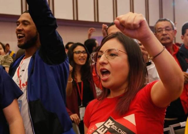 Partidos de izquierda del mundo se solidarizan con la Revolución Bolivariana 2018-127