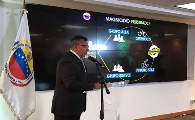 Poder Judicial emite nuevas órdenes de captura por el magnicidio frustrado contra Maduro 2018-138