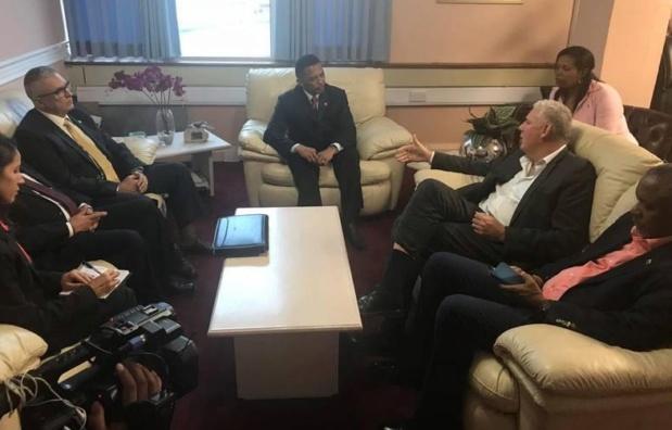 Venezuela y Santa Lucía refuerzan cooperación en materia de seguridad ciudadana 2018-146