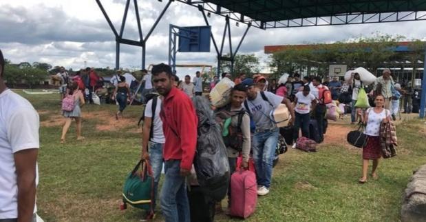 Migrantes venezolanos denunciaron malos tratos y discriminación en Brasil 2018-172