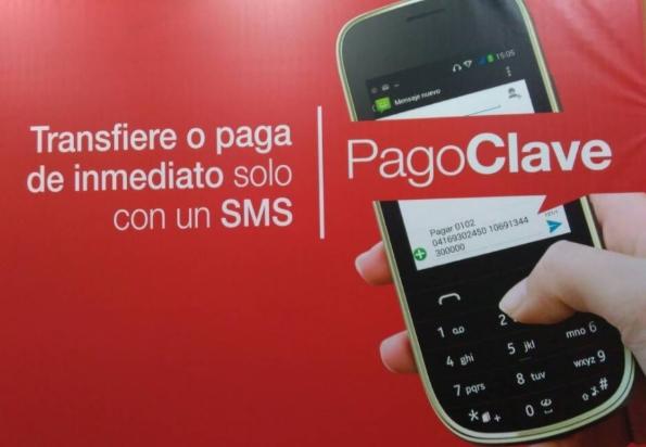 Pago bancario SMS