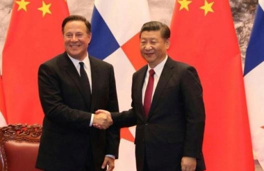 """Panamá exige """"respeto"""" a EEUU por su decisión de aliarse a China 2018-184"""
