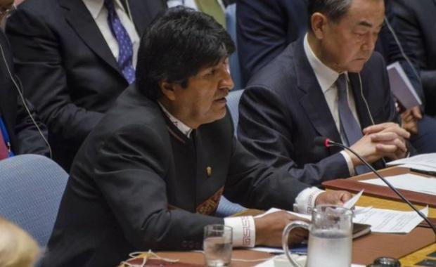 Evo Morales el Consejo de Seguridad ONU