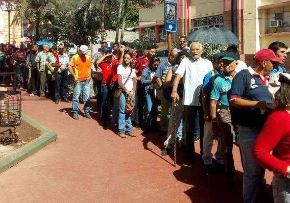 Trujillanos salieron masivamente a firmar para rechazar bloqueo de EEUU contra Venezuela