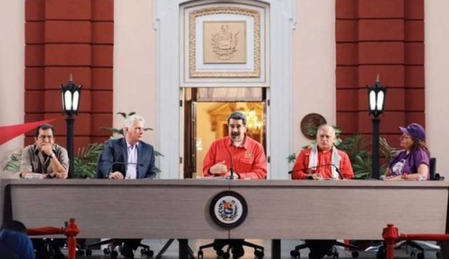 El presidente de la República Bolivariana de Venezuela, Nicolás Maduro