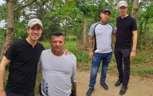 Guaidó y narcotraficantes colombianos