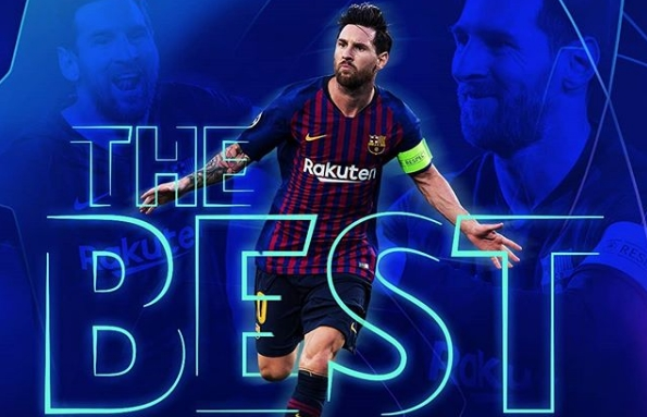 'Messi gana The Best FIFA 2019