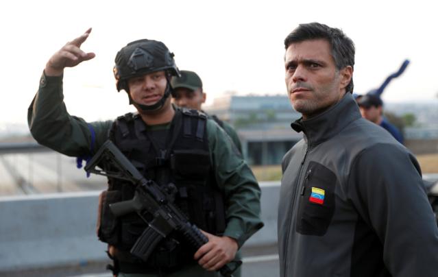 Antonio Sequea Torres y Leopoldo López