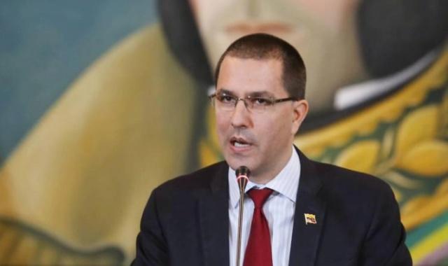 canciller Jorge Arreaza